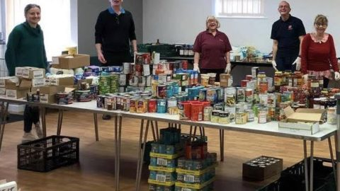 Care group donates food to vulnerable during virus outbreak