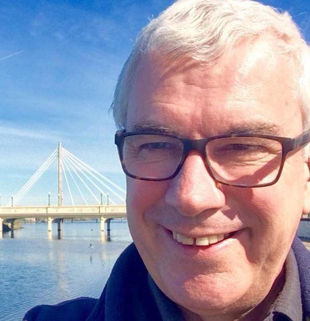 Sandgrounder Radio presenter Derek Webster